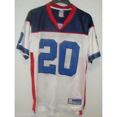 BLEMISHED NFL BUFFALO BILLS HENRY #20 AWAY COLORS REEBOK JERSEY ADULT M