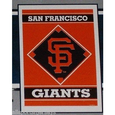 "MLB San Francisco Giants 28""x40"" Team Vertical House Flag 1 Sided"