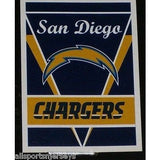 "NFL San Diego Chargers 28""x40"" Team Vertical House Flag 1 Sided"
