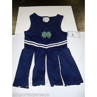 NCAA Notre Dame Fighting Irish Infant Cheer Dress 1-pc 3T Two Feet Ahead