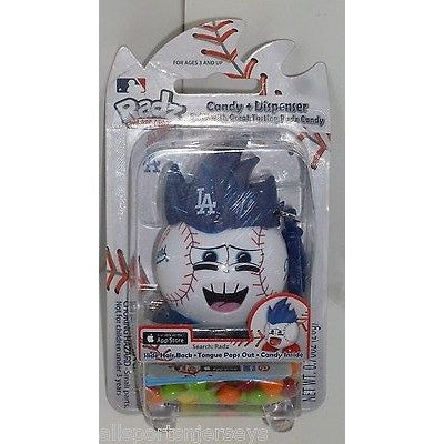 MLB Los Angeles Dodgers Radz Candy Dispenser .7oz