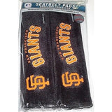 MLB San Francisco Giants Velour Seat Belt Pads 2 Pack by Fremont Die
