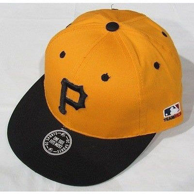 MLB Pittsburgh Pirates Adult Cap Cooperstown Raised Replica Cotton Twill Hat