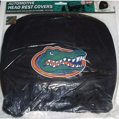 NCAA Florida Gators Headrest Cover Embroidered Logo Set of 2 by Team ProMark