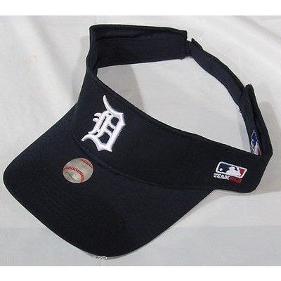 MLB Detroit Tigers Visor Cotton Twill Replica Adjustable Strap Adult