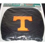 NCAA Tennessee Volunteers Headrest Cover Embroidered Logo Set of 2 by Team ProMark