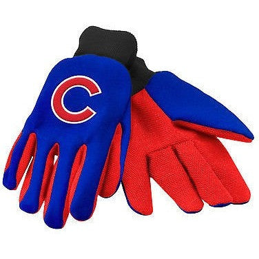 MLB Chicago Cubs Utility Gloves by Forever Collectibles