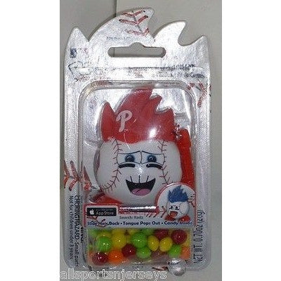 MLB Philadelphia Phillies Radz Candy Dispenser .7oz