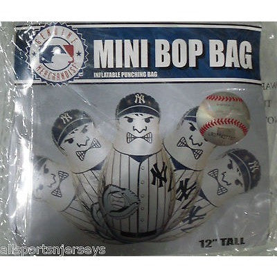 MLB New York Yankees 12 Inch Mini Bop Bag by Fremont Die