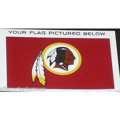NFL 3' x 5' Team All Pro Logo Flag Washington Redskins by Fremont Die