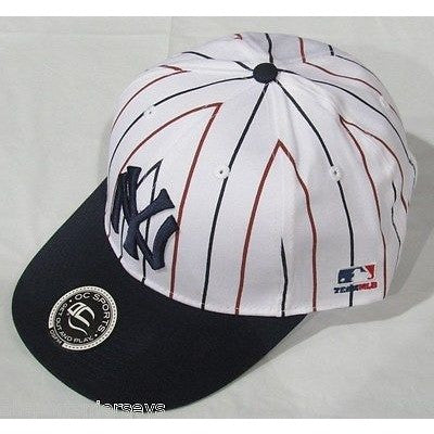 MLB New York Yankees Adult Cap Cooperstown Raised Replica Cotton Twill Hat