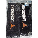 NCAA Texas Longhorns Velour Seat Belt Pads 2 Pack by Fremont Die