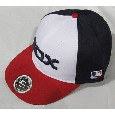 MLB Chicago White Sox Adult Cap Cooperstown Raised Replica Cotton Twill Hat