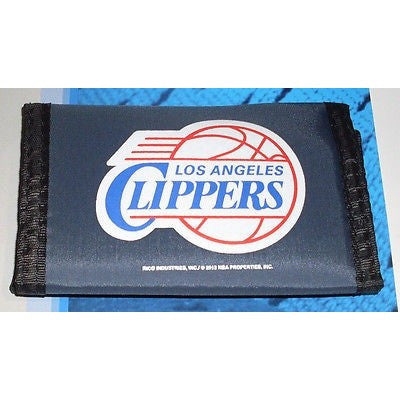 NBA Los Angels Clippers Tri-fold Nylon Wallet with Printed Alternate Logo