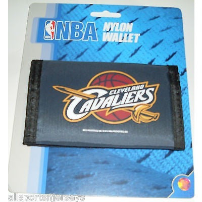 NBA Cleveland Cavaliers Tri-fold Nylon Wallet with Printed Logo