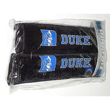 NCAA Duke Blue Devils Velour Seat Belt Pads 2 Pack by Fremont Die