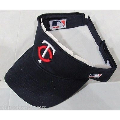 MLB Minnesota Twins Visor Cotton Twill Replica Adjustable Strap Adult
