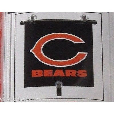 "NFL Chicago Bears Automotive Window Sun Shade 14"" x 18"" by Topperscot"