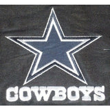 NFL Dallas Cowboys Headrest Cover Embroidered Logo Set of 2 by Team ProMark