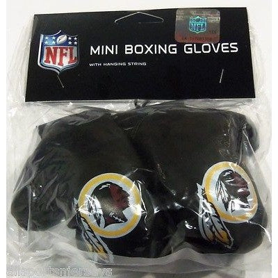 NFL Washington Redskins 4 Inch Rear View Mirror Mini Boxing Gloves