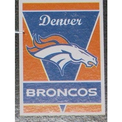 "NFL Denver Broncos 28""x40"" Team Vertical House Flag 1 Sided"