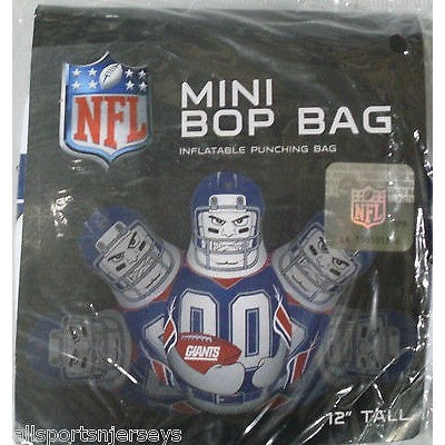 NFL New York Giants 12 Inch Mini Bop Bag by Fremont Die