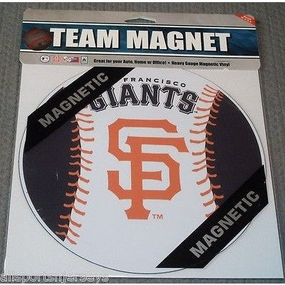 MLB San Francisco Giants 8 Inch Auto Magnet 2-tone Ball by Fremont Die