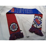 "NBA 2015 Reversible Split Logo Scarf Los Angeles Clippers 64"" by 7"" FOCO"