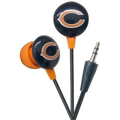 NFL iHip Team Logo Earphones Chicago Bears