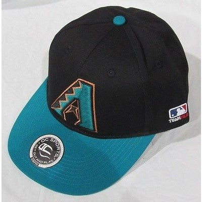 MLB Arizona Diamondbacks Adult Cap Cooperstown Raised Replica Cotton Twill HatCAP