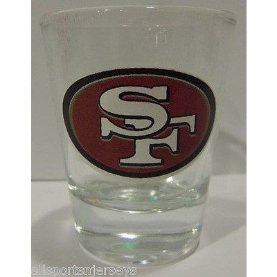 NFL San Francisco 49ers Standard 2 oz Shot Glass by Hunter