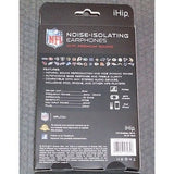 NFL iHip Team Logo Earphones Minnesota Vikings