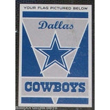 "NFL Dallas Cowboys 28""x40"" Team Vertical House Flag 1 Sided"