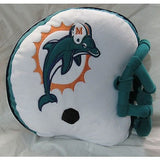 NFL Plush Helmet Shaped Pillow Miami Dolphins By Northwest