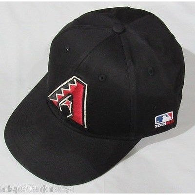 MLB Arizona Diamondbacks Adult Cap Flat Brim Raised Replica Cotton Twill Hat