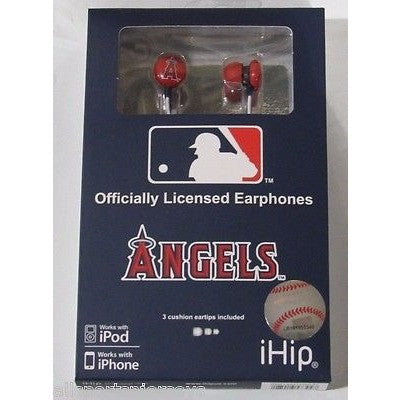 MLB Team Logo Earphones Los Angeles Angels By iHip