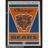 "NFL Chicago Bears 28""x40"" Team Vertical House Flag 1 Sided"