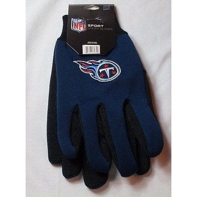 NFL NWT NO SLIP UTILITY WORK GLOVES TENNESSEE TITANS - FOREVER COLLECTIBLES