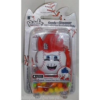 MLB NEW IN PACKAGE RADZ CANDY DISPENSER - ST LOUIS CARDINALS