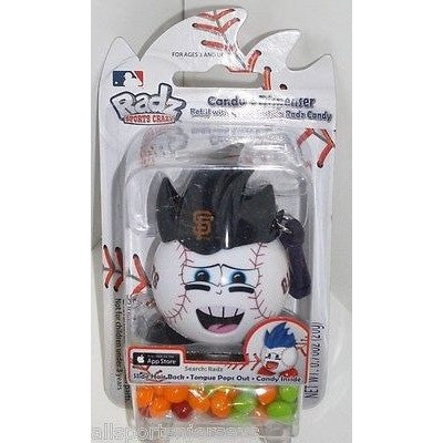 MLB San Francisco Giants Radz Candy Dispenser .7oz