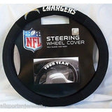 NFL POLY-SUEDE MESH STEERING WHEEL COVER SAN DIEGO CHARGERS