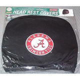 NCAA Alabama Crimson Tide Headrest Cover Embroidered Logo Set of 2 by Team ProMark