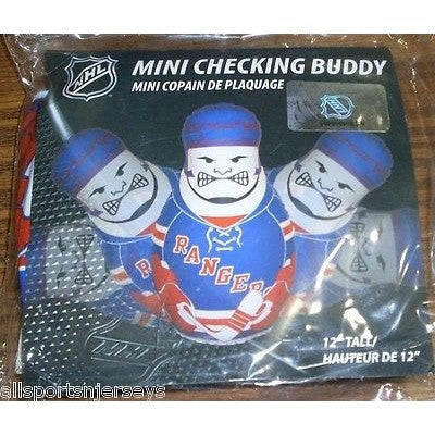 NHL New York Rangers 12 Inch Mini Bop Bag by Fremont Die