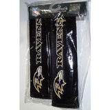 NFL Baltimore Ravens Velour Seat Belt Pads 2 Pack by Fremont Die