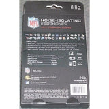 NFL iHip Team Logo Earphones Kansas City Chiefs