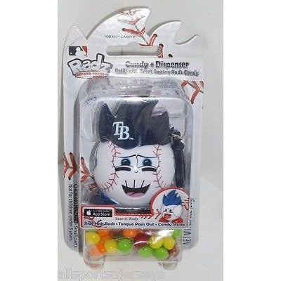 MLB NEW IN PACKAGE RADZ CANDY DISPENSER - TAMPA BAY RAYS
