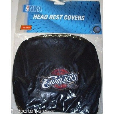 NBA Cleveland Cavaliers Headrest Cover Embroidered Old Logo Set of 2 by Team ProMark