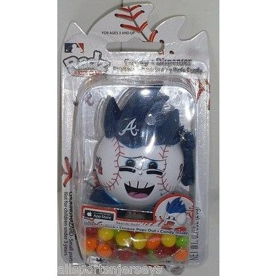 MLB Atlanta Braves New in Package RADZ Candy Dispenser