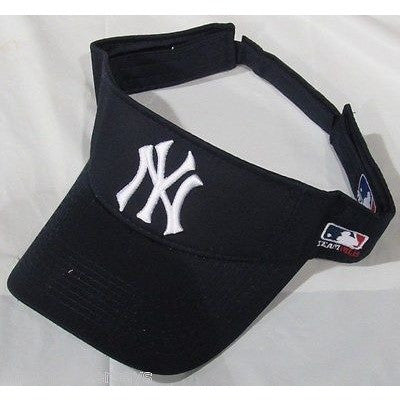 MLB New York Yankees Visor Cotton Twill Replica Adjustable Strap Adult