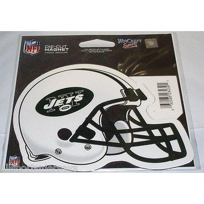 2ddf7a00464 NFL New York Jets Helmet 4 inch Auto Magnet by WinCraft – All Sports ...